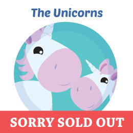 Unicorns Sold Out Wall Art Activity Kits