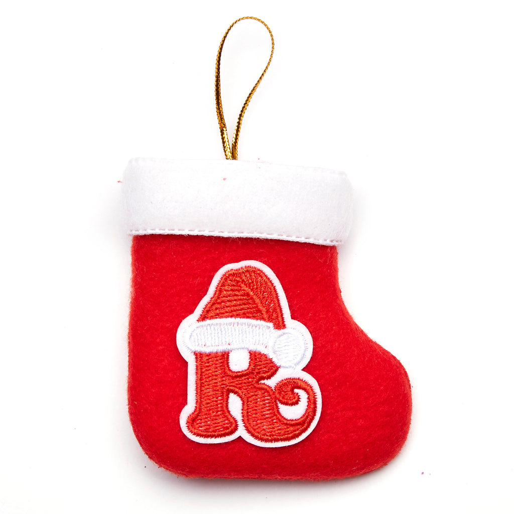 Personalized Embroidered Stocking
