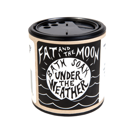 Fat and the Moon- Under the Weather Bath Soak