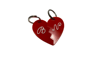 "Heart ""Connection"" Keychain"