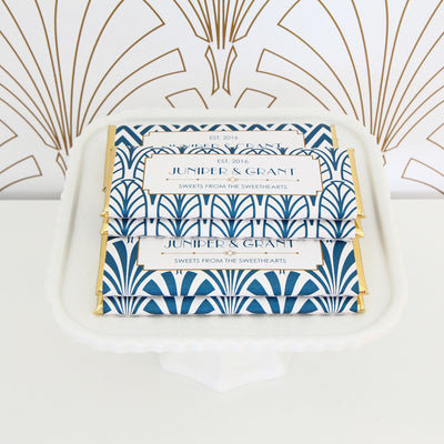 Glamorous Art Deco Chocolate Bar