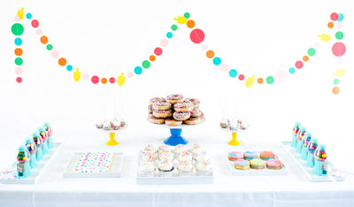 Confetti and Sprinkles: Hanukkah Sweets Table