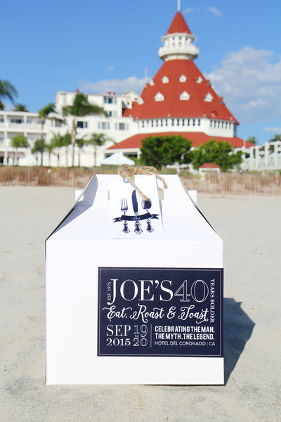 Seaside 40th Birthday Soiree at Hotel Del Coronado
