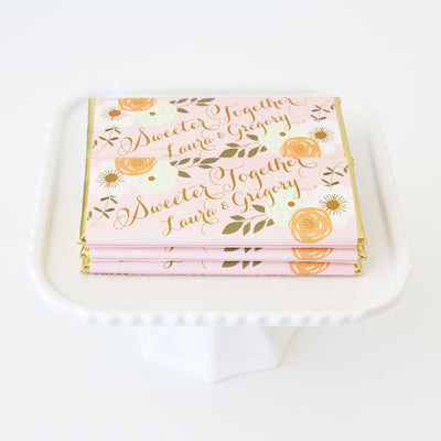 WeddingWire WinterBook 2015: Country Rustic Floral Wrapper