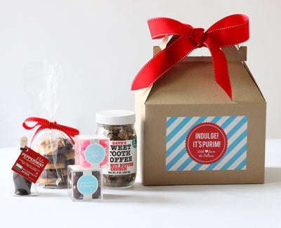 It's Purim! Gift Box Ideas with a Kosher Twist