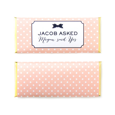 Bow and Polka Dots Wrapper
