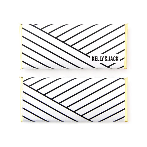 Geometric Stripes Wrapper