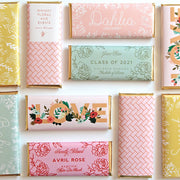 Spring Meadow Personalized Candy Bar Wrapper