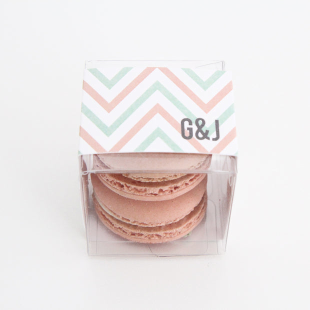 Chevron Favor Box - Sweet Paper Shop