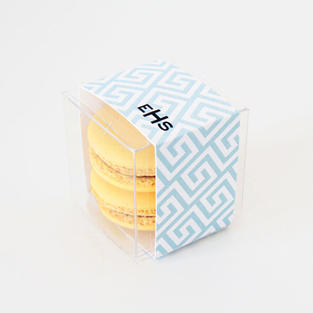 Greek Key Personalized Favor Box - Sweet Paper Shop