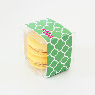 Quatrefoil Trellis Personalized Favor Box - Sweet Paper Shop