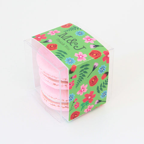 Bright Floral Favor Box