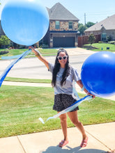 Load image into Gallery viewer, Custom Jumbo Balloon with Vinyl