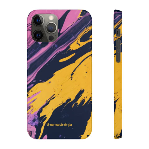 Happy Pinky Yellow Snap Cases