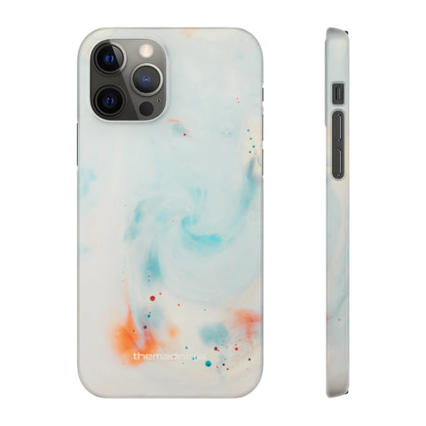 White Marble Snap Cases