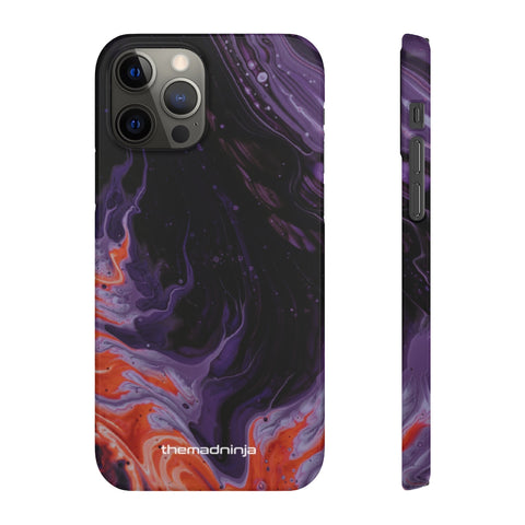 Fiery Purple Snap Cases
