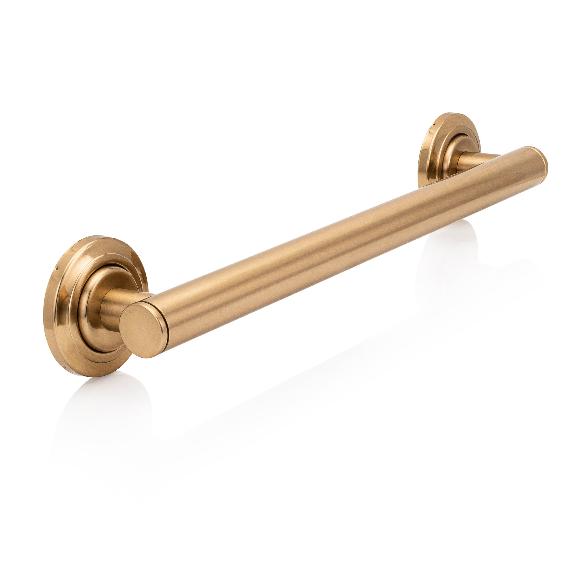 Brushed Gold Grab Bars