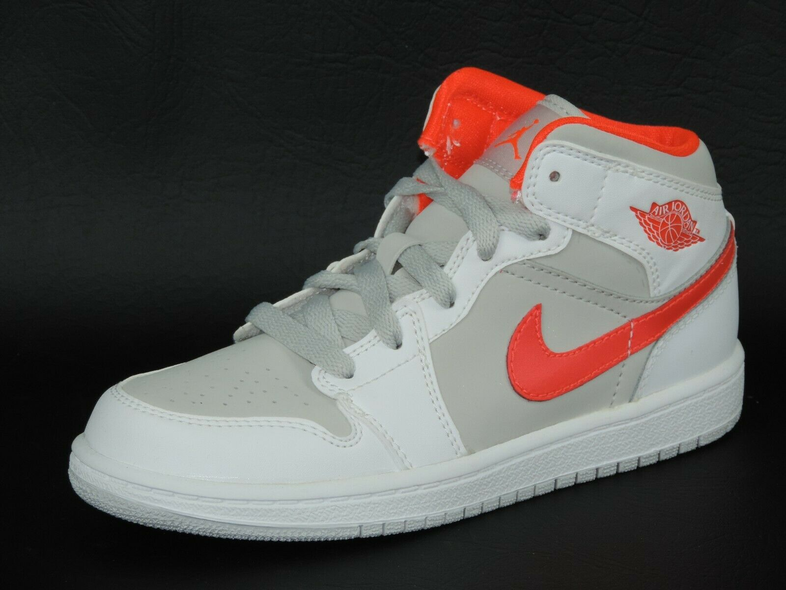 Nike Air Jordan 1 Phat Girls Shoes PS 364782 119 Basketball Leather White DS