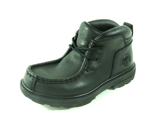 Timberland Youth Boys Shoes RGD ST II WLBY Black Leather Outdoor 31799 DeadStock