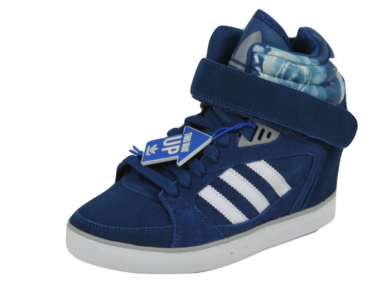 Adidas Amberlight Up W D65817 Womens Shoes Blue Leather Sneaker Casual DS