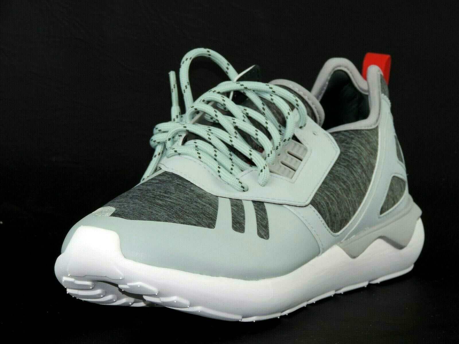 Adidas Tubular Runner Weave S82650 Mens Shoes Missla Grey Textil Running Leather