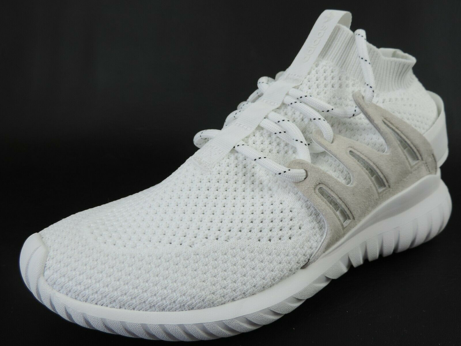 Adidas Tubular Nova PK S80106 Mens Shoes White Running Shoes Mesh Athletic Rare