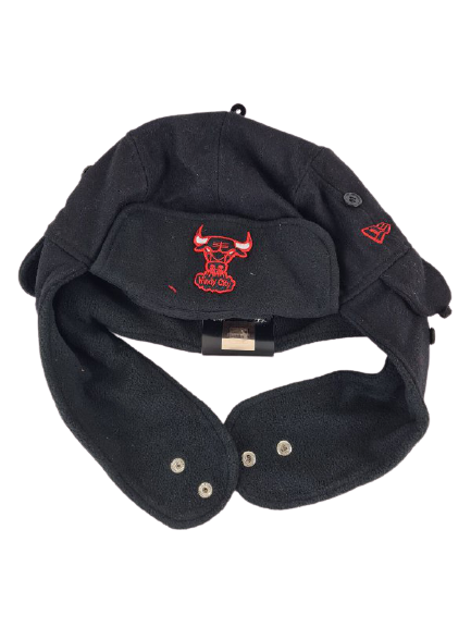 New Era Cap Chicago Bulls Team Melton Mama Men's Beanie Winter Hat Size 2XL