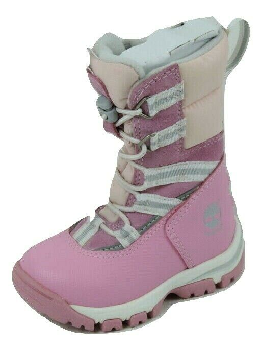Timberland Inclement WP 33832 Toddlers Girls Boots Leather Pink Snow Outdoors