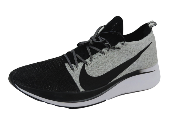 Nike Zoom Fly Flyknit Mens Shoes BV6103 001 Running Shoes Black White Mesh 14-15