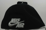Nike Air Adult Unisex Baller Fitted Hat Cap Black Canvas Red NWT 592286 010/648