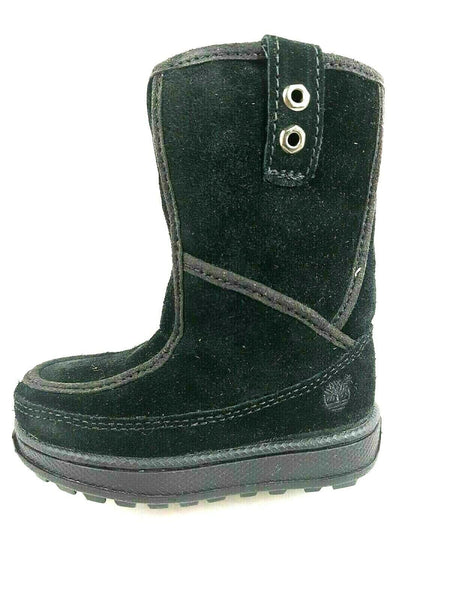 Timberland Winter Boots Toddlers MID/PETITS Mukluk Jewel Tones Black NR 36875