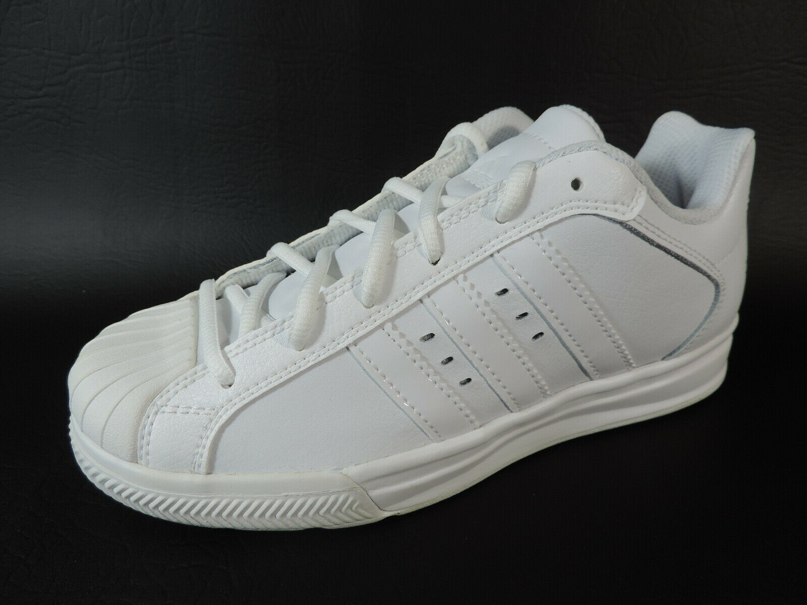 Adidas Boys Shoes Superstar Vulcano K Sneakers Casuals White Leather G24469