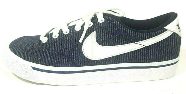 Nike Womens Shoes All Court Canvas Sneakers Classics Obsidian 305411 411