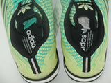 Adidas ZX Flux Mens Shoes SZ 10 Green Running Nylon All Star AQ8212 Athletic New