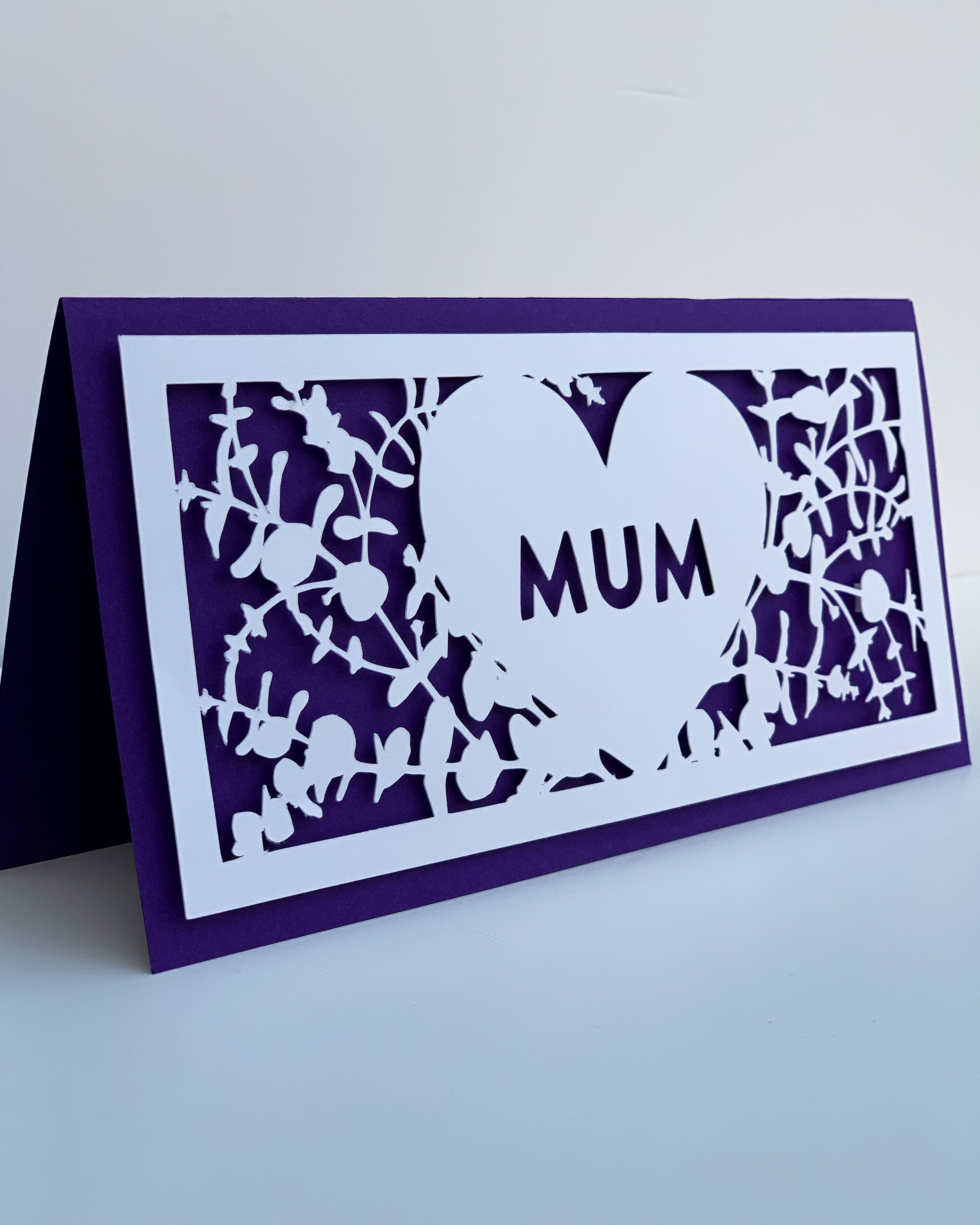 Personalised Eucalyptus Mother's Day Card