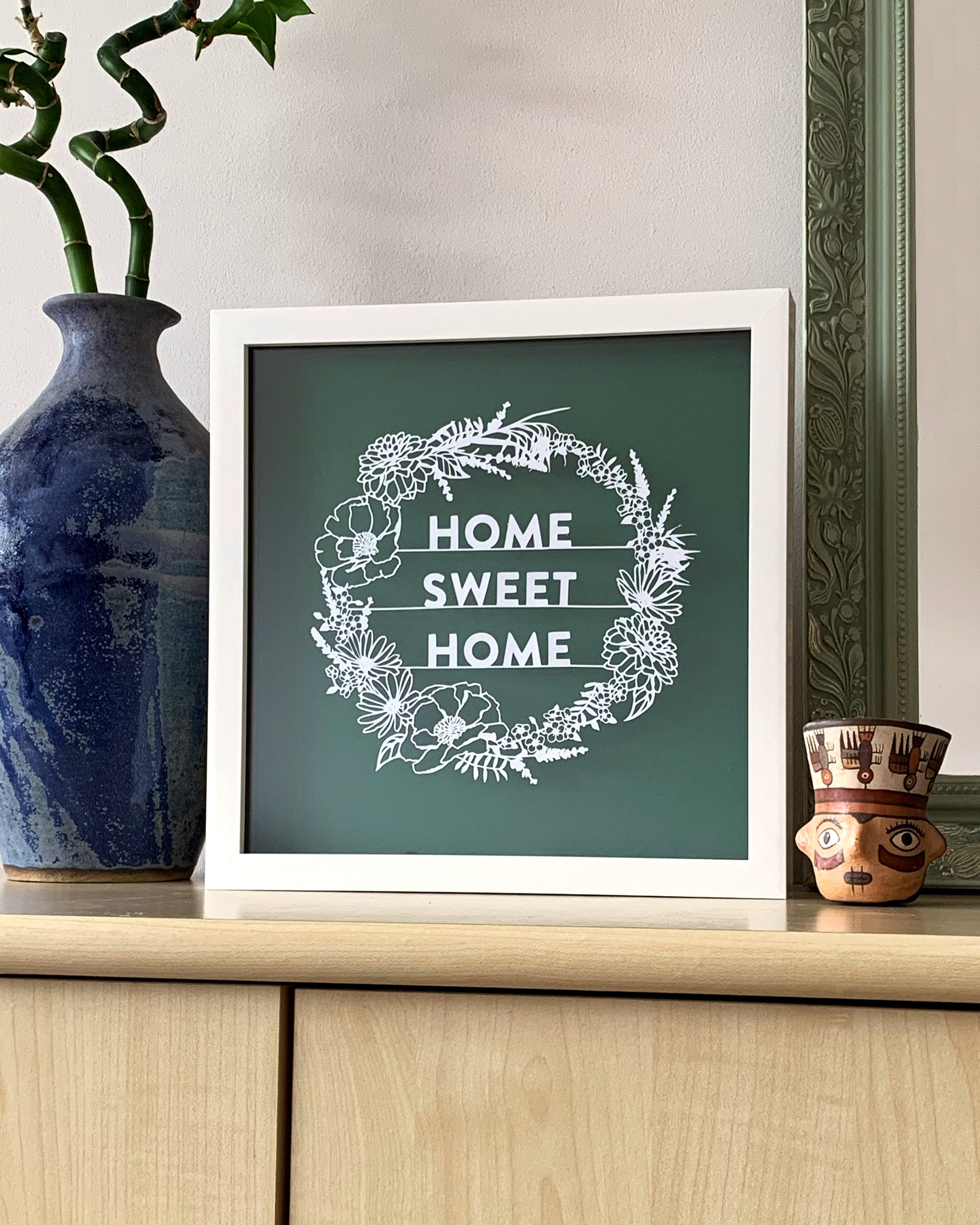 'Home Sweet Home' Paper Cut