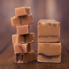 Load image into Gallery viewer, Chocolate & Caramel Fudge