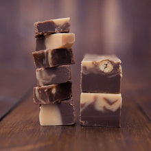 Load image into Gallery viewer, Nutella & Peanut Butter Fudge