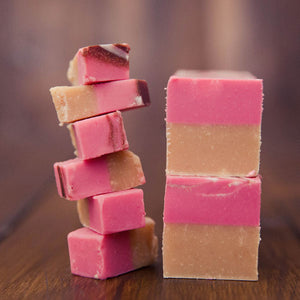 Strawberry Cheesecake Fudge