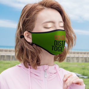 Distant Together - With Two Filters  Face Cover Ordinary Face Cover for Women and Men