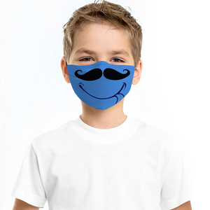 Junior Gent -  Face Cover Dust Proof Face Cover with Filter Element for Children