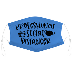 Professional Social Distancer -  Non-Medical Face Cover, Face Cover Without Filter for Adult