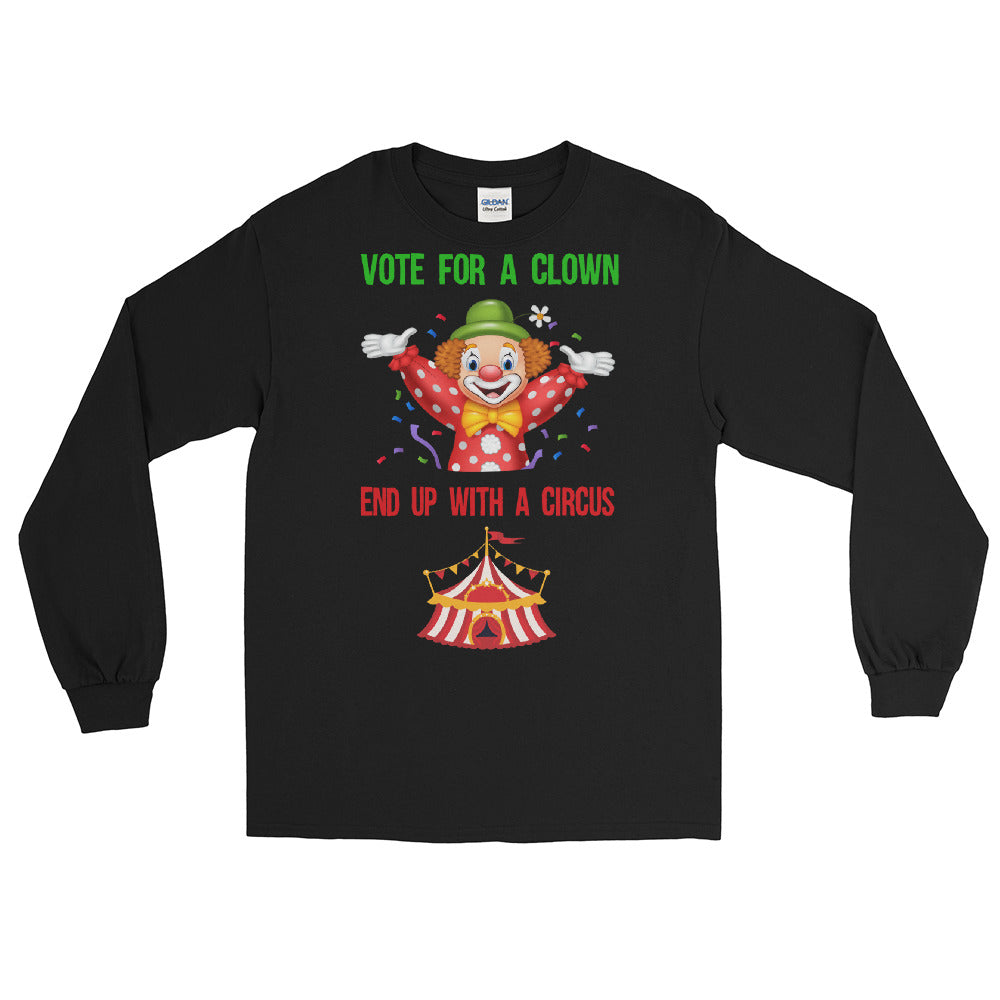 Vote For A Clown - Long Sleeve Shirt