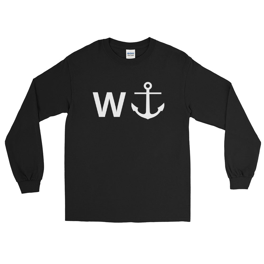 W ANCHOR - Long Sleeve Shirt