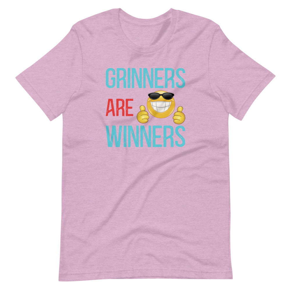 Grinners Are Winners - Short-Sleeve Unisex T-Shirt