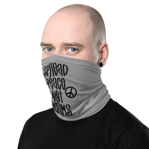 Spread Peace Not Germs - Neck Gaiter