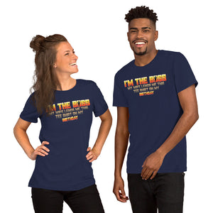 I'M THE BOSS - Short-Sleeve Unisex T-Shirt