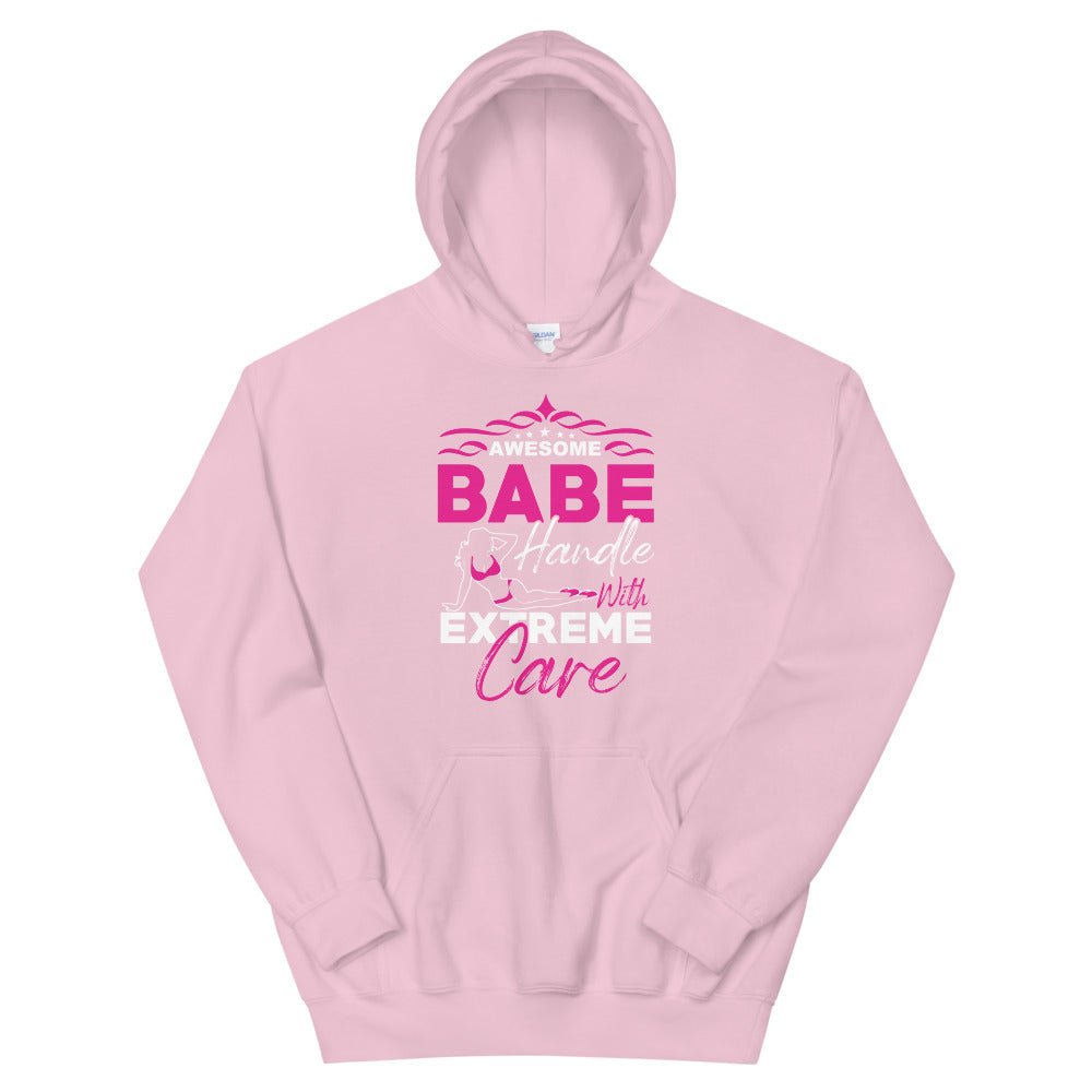 Awesome Babe - Unisex Hoodie