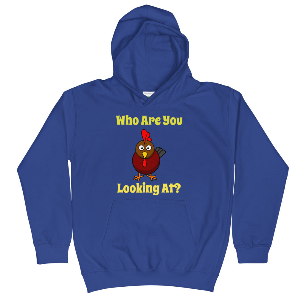 Who Are You Looking At? - Kids Hoodie