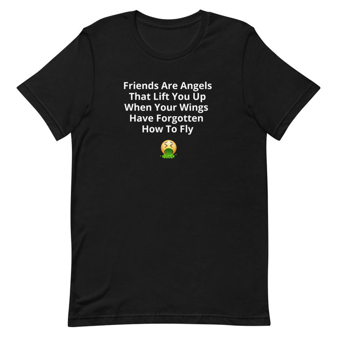 Friends Are Angel's - Short-Sleeve Unisex T-Shirt